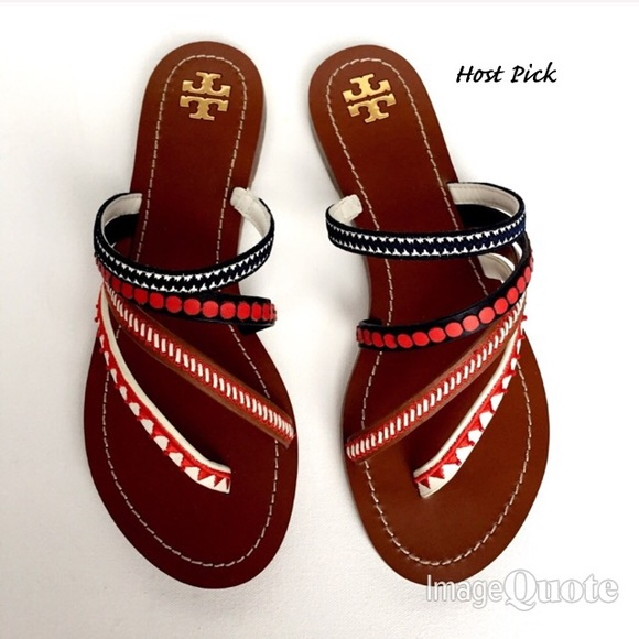 b31c47332a15 🌷Host Pick🌷 Tory Burch Patos Embroidered Sandals